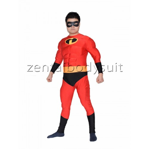 Mr.Incredible Muscle Superhero Costume