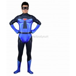 Blue Mr. Incredible Suit The Incredibles 2 Cosplay Costume