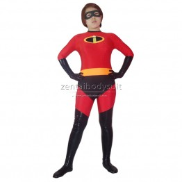 Mrs Incredible Spandex Superhero Costume