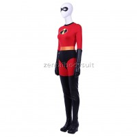 luxury The Incredibles 2 Elastigirl Helen Parr Cosplay Superhero Suit