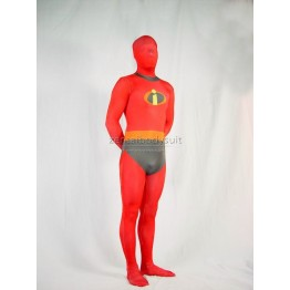 The Incredibles-Mr Incredible Suit Fullbody Superhero Costume