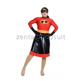 The Incredibles Skirt Classic Superhero Costume
