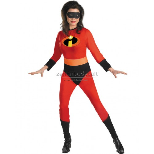 The Mrs Incredible Spandex Superhero Costume