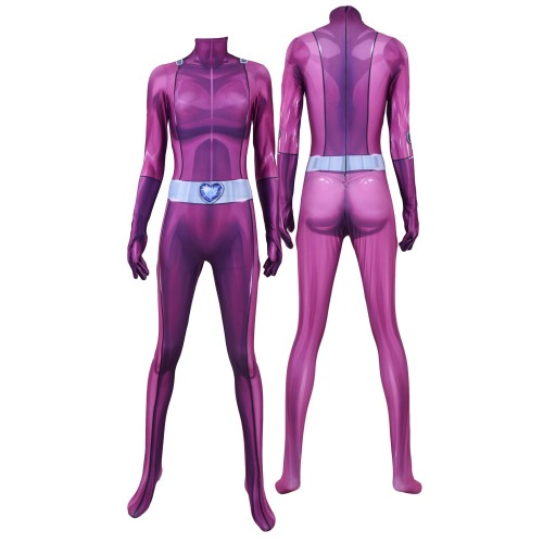 Totally Spies Mandy Suit DyeSub Printing Jumpsuit Cosplay Costume Zentai Suit