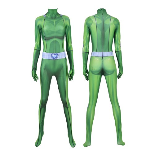 Sam Totally Spies! DyeSub Printing Jumpsuit Cosplay Costume Zentai Suit