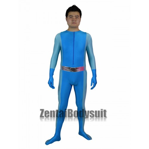 Blue Totally Spies! Alex Spandex Superhero Costume