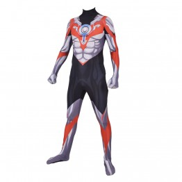 Ultraman Orb Cosplay Costume Printed Zentai Suit Kids/Adults