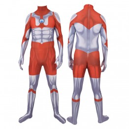 Ultraman Cosplay Costume Printed Zentai Suit Kids/Adults