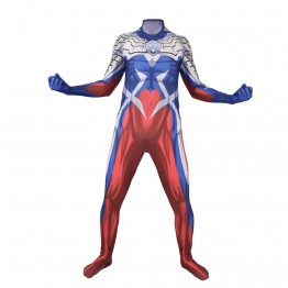 Ultraman Zero Cosplay Costume Printed Zentai Suit