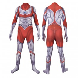 The Return of Ultraman Ultraman Jack Cosplay Costume Kids/Adults