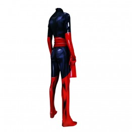 Dark Phoenix Suit X-men Jean Grey Dyesub Girls Superhero Costume