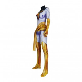 White Phoenix Suit X-Men Phoenix Cosplay Costume Jumpsuits