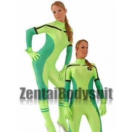 Apple Green And Green X-Men Rogue superhero costumes