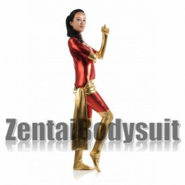 Red And Golden X-Men Dark Phoenix Costume