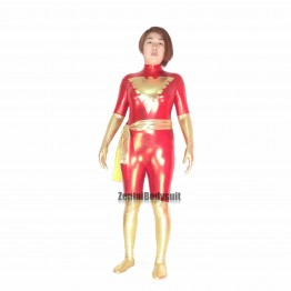 Red Shiny Metallic X-Men Dark Phoenix Costume