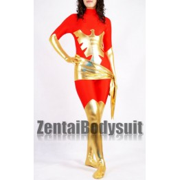 Red X-men Jean Grey Phoenix Spandex Costume