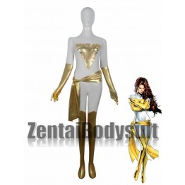 White And Gold X-men Phoenix Costume