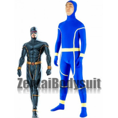 X-Men Cyclops Lycra Spandex Superhero Zentai Costume