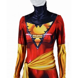 X-Men Phoenix Cosplay Costume Dark Phoenix Costume