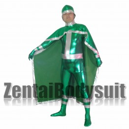 X-men Rogue Costume | Green Rogue Metal Superhero Costume