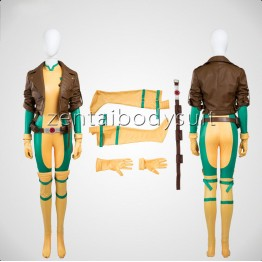 X-men Rogue Costume | Rogue Cosplay Costume