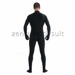 Black Male Lycra Spandex Zentai Catsuit No Mask