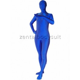Royal Blue Full Body Spandex Zentai Suit