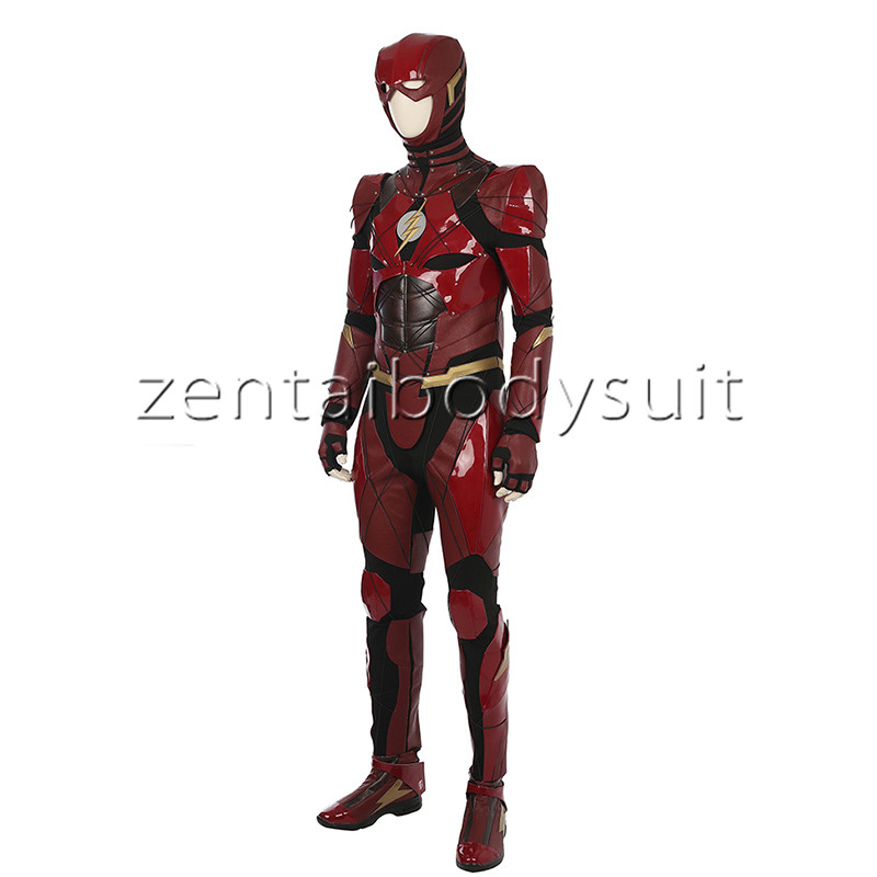 Justice League Flash Cosplay Costume