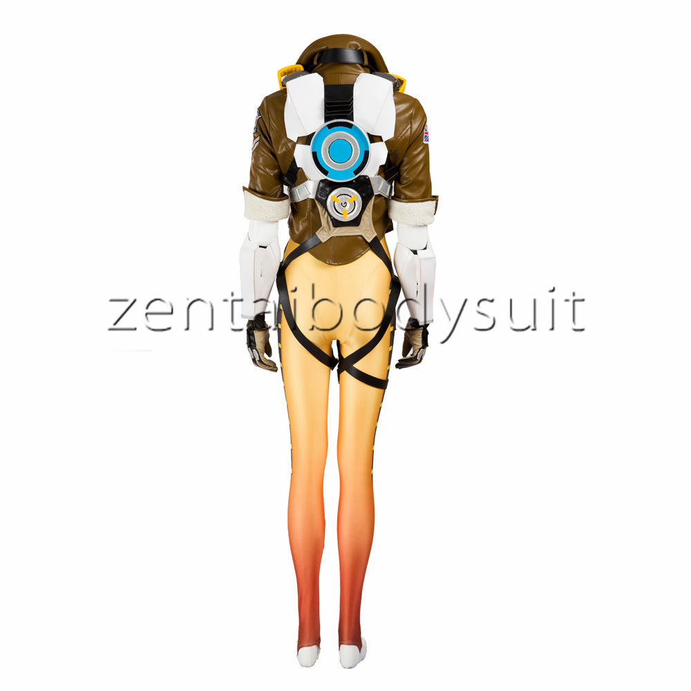 Overwatch Tracer costume
