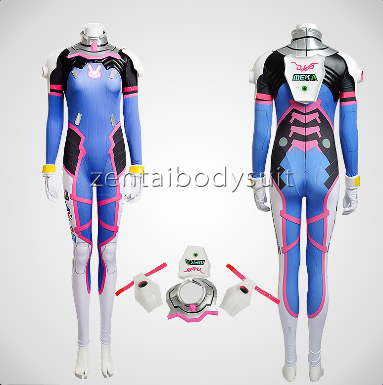 D.Va Cosplay Costume